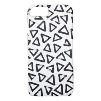 Triangels, Geometric  Scandinavian Design Pattern iPhone 8/7 Case