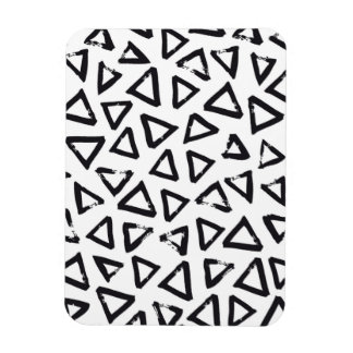 Triangels, Geometric  Scandinavian Design Pattern Magnet