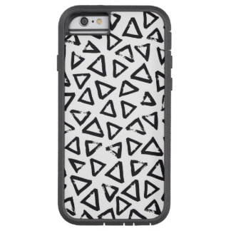 Triangels, Geometric  Scandinavian Design Pattern Tough Xtreme iPhone 6 Case