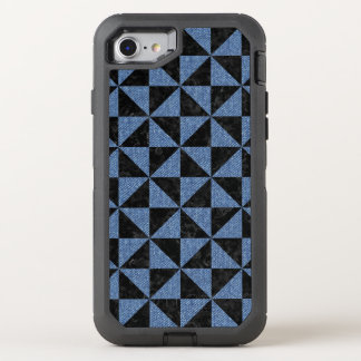 TRIANGLE1 BLACK MARBLE & BLUE DENIM OtterBox DEFENDER iPhone 8/7 CASE