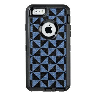TRIANGLE1 BLACK MARBLE & BLUE DENIM OtterBox DEFENDER iPhone CASE