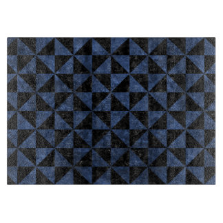 TRIANGLE1 BLACK MARBLE & BLUE STONE CUTTING BOARD