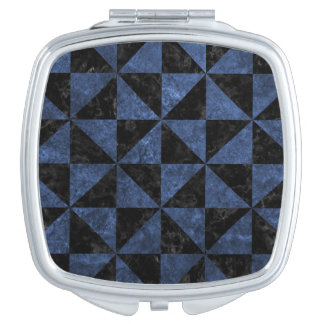 TRIANGLE1 BLACK MARBLE & BLUE STONE MIRRORS FOR MAKEUP