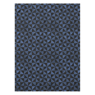 TRIANGLE1 BLACK MARBLE & BLUE STONE TABLECLOTH