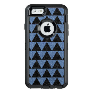 TRIANGLE2 BLACK MARBLE & BLUE DENIM OtterBox DEFENDER iPhone CASE