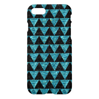 TRIANGLE2 BLACK MARBLE & BLUE-GREEN WATER iPhone 8/7 CASE