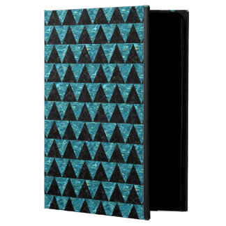 TRIANGLE2 BLACK MARBLE & BLUE-GREEN WATER POWIS iPad AIR 2 CASE