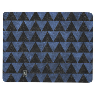 TRIANGLE2 BLACK MARBLE & BLUE STONE JOURNAL