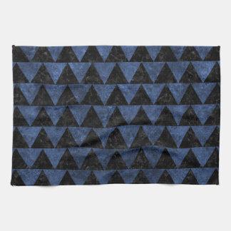 TRIANGLE2 BLACK MARBLE & BLUE STONE KITCHEN TOWEL
