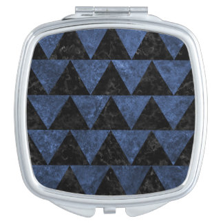 TRIANGLE2 BLACK MARBLE & BLUE STONE VANITY MIRRORS