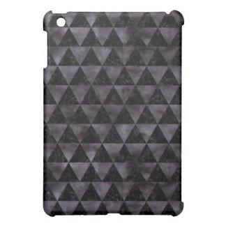 TRIANGLE3 BLACK MARBLE & BLACK WATERCOLOR iPad MINI CASES