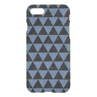 TRIANGLE3 BLACK MARBLE & BLUE DENIM iPhone 8/7 CASE