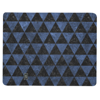 TRIANGLE3 BLACK MARBLE & BLUE STONE JOURNAL