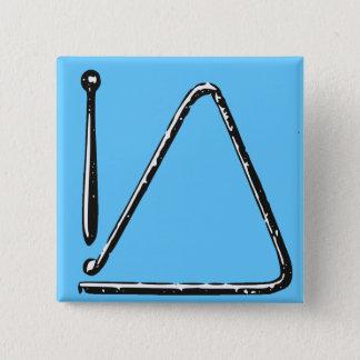 Triangle 2 Inch Square Button