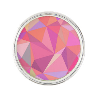 Triangle abstract lapel pin