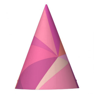 Triangle abstract party hat