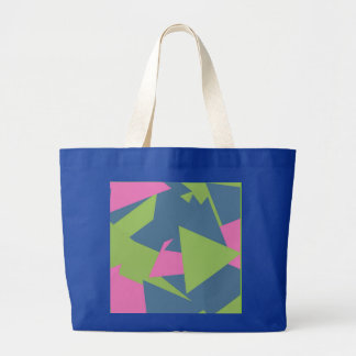 Triangle Abstract Pattern Jumbo Tote Bag