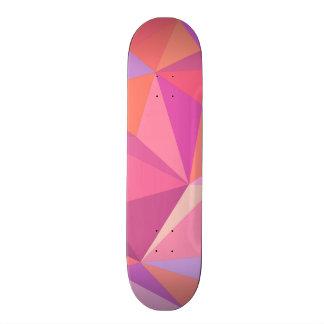 Triangle abstract skate decks