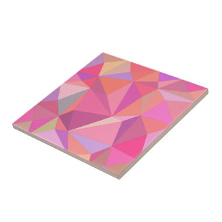 Triangle abstract tile