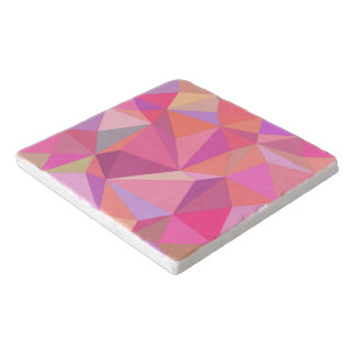 Triangle abstract trivet