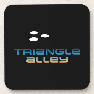Triangle Alley 1 Beverage Coasters