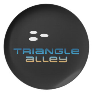 Triangle Alley 1 Dinner Plate