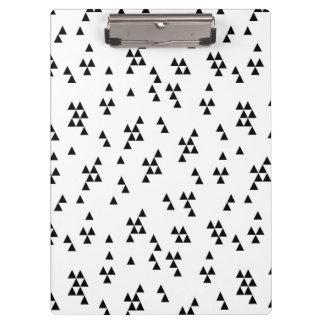 Triangle Black White Minimal Scandi /Andrea Lauren Clipboards