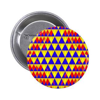 Triangle Bustle 2 Inch Round Button