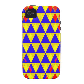 Triangle Bustle iPhone 4 Case