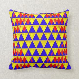 Triangle Bustle Throw Pillows