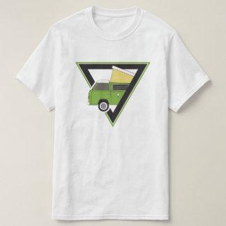 triangle classic green camper van T-Shirt