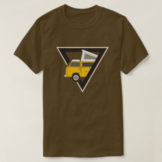 triangle classic yellow bus T-Shirt