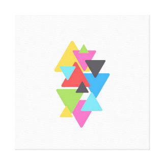 Triangle Deco Canvas