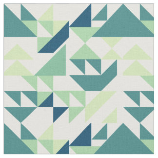 Triangle design fabric