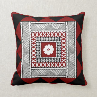Triangle Frame Masi Throw Pillow