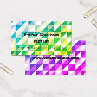 Triangle Glory Business Card