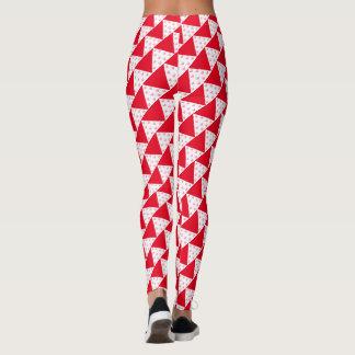 Triangle hearts leggings