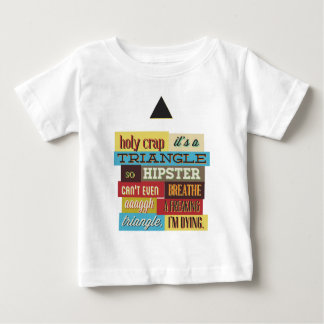 triangle hipster and breath baby T-Shirt