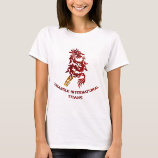 Triangle International Titans (Red Text) T-Shirt