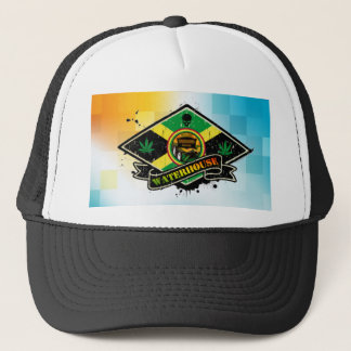 triangle ja trucker hat