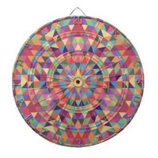 Triangle mandala 1 dart boards