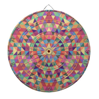 Triangle mandala 1 dartboard