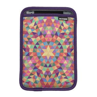Triangle mandala 1 iPad mini sleeve