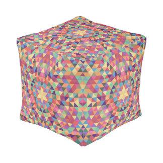 Triangle mandala 1 pouf
