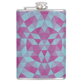 Triangle mandala 2 flask