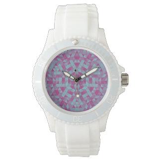 Triangle mandala 2 wristwatch