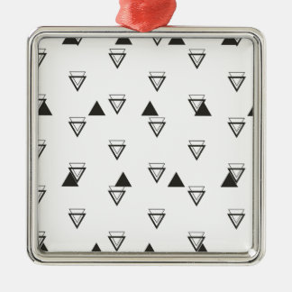triangle metal ornament
