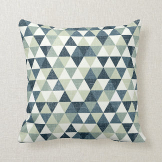 triangle modern pattern Outdoor Throw Pillow