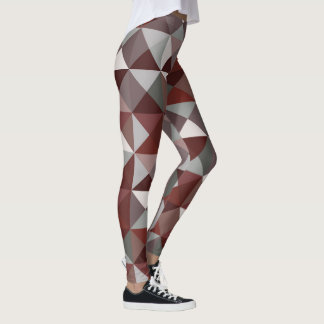 Triangle pattern design leggings