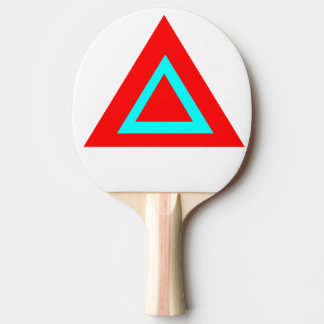 triangle ping pong paddle